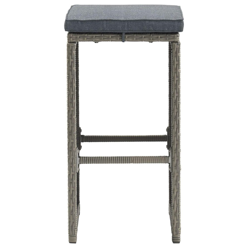 Bolton Furniture Asti 7-Piece Patio Pub Set in Gray, , large