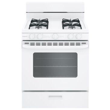 "GE Appliances 30"" Freestanding Gas Range in White, , large"