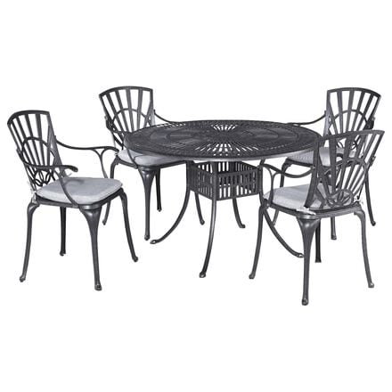 Home Styles Grenada 5-Piece Dining Set in Gray