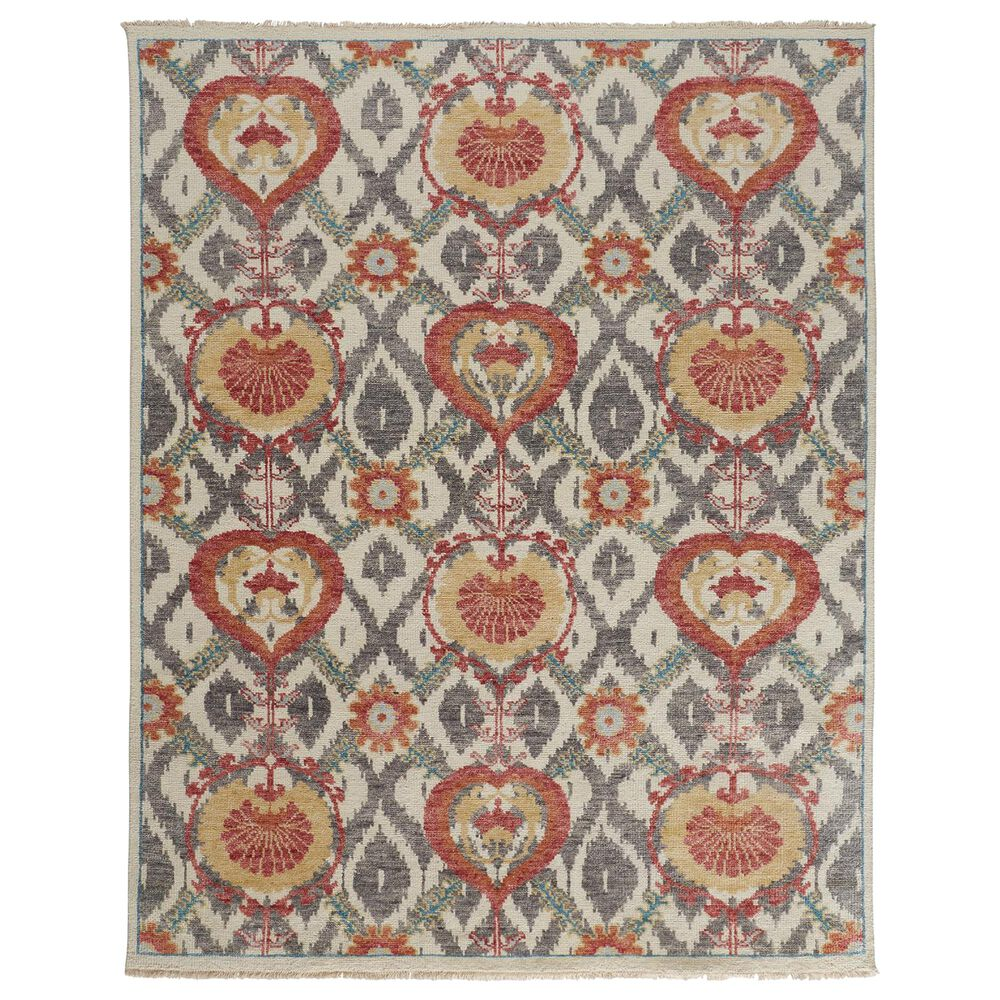 """Feizy Rugs Beall 2'6"""" x 8' Rust Runner, , large"""