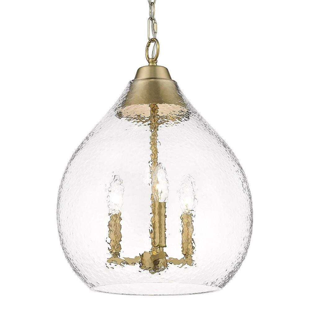 Golden Lighting Ariella 3-Light Pendant in Brushed Champagne Bronze, , large