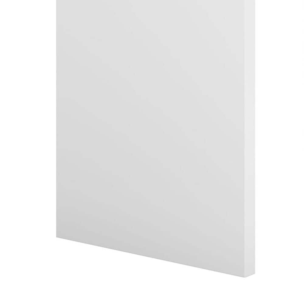 """Bush Echo 56"""" Bookcase Desk in Pure White, , large"""