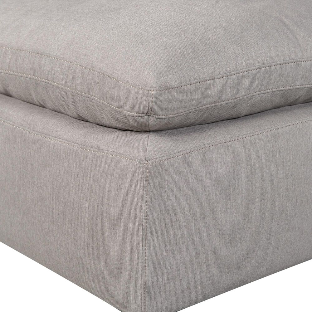 Moe's Home Collection Terra Condo Ottoman in Light Grey, , large