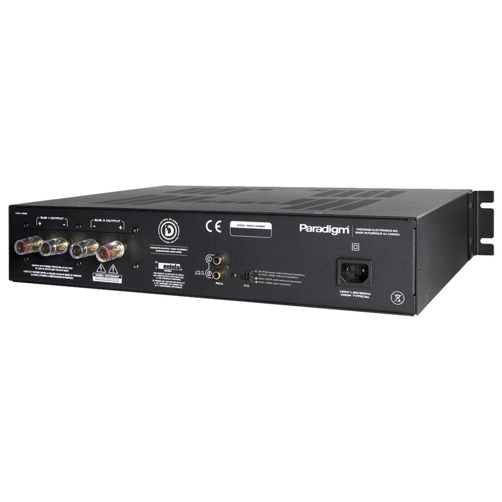 Paradigm X-300 V2 Amplifier in Black, , large