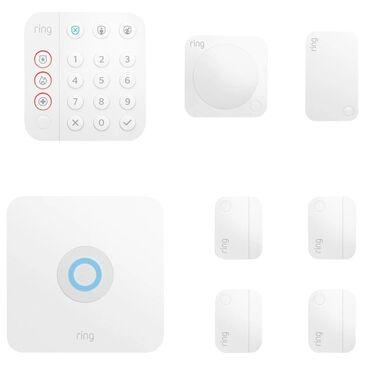 Ring 8-Piece Alarm Kit V2 Standard in White, , large
