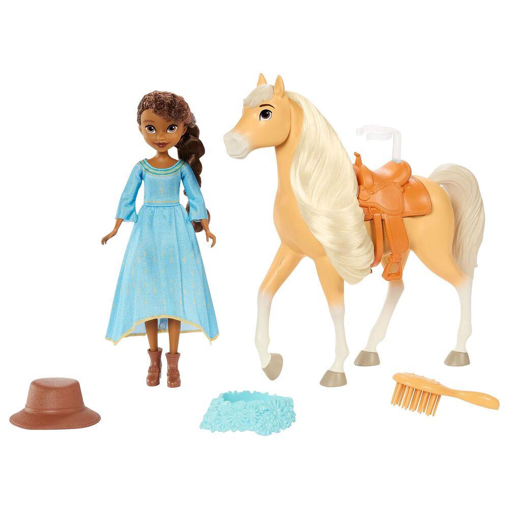 "Mattel Spirit Untamed Miradero Festival Prudence ""Pru"" Granger Doll and Chica Linda, , large"