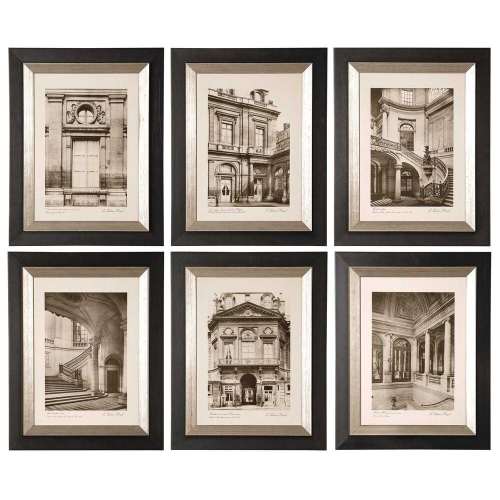Uttermost Paris Scene Framed Art (Set of 6), , large