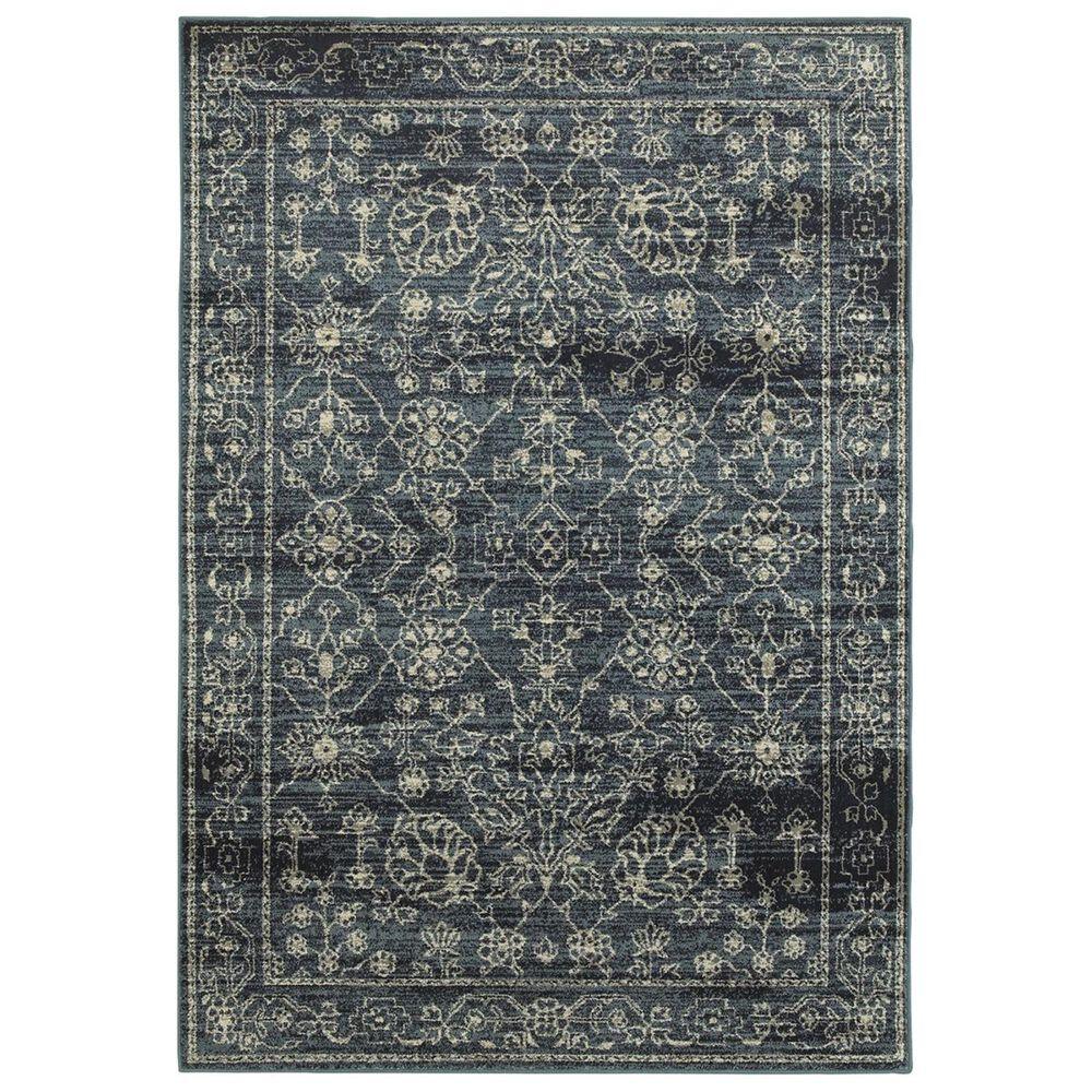 """Oriental Weavers Linden 7804D 9'10"""" x 12'10"""" Navy Area Rug, , large"""
