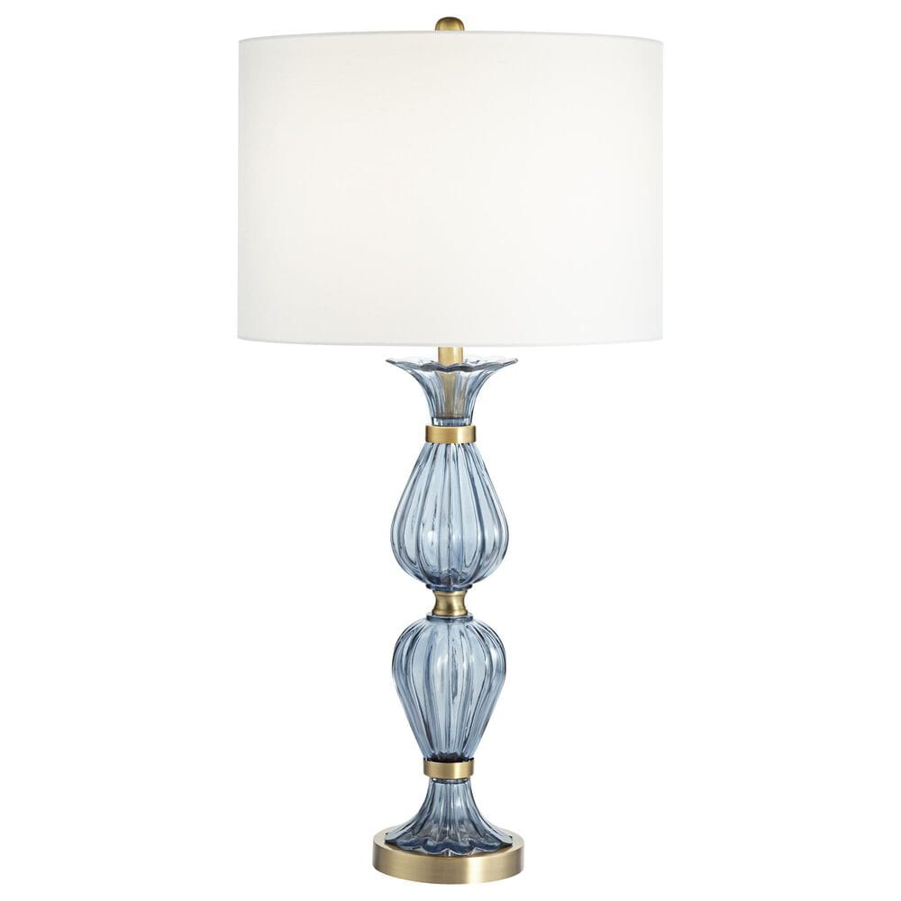 Pacific Coast Lighting Chateau Ariel Table Lamp in Blue, , large