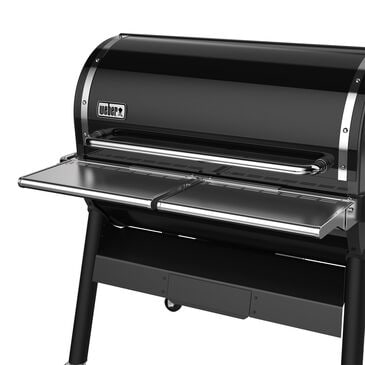 Weber Folding Front Shelf for SmokeFire EX6 Wood Pellet Grill in Stainless Steel, , large