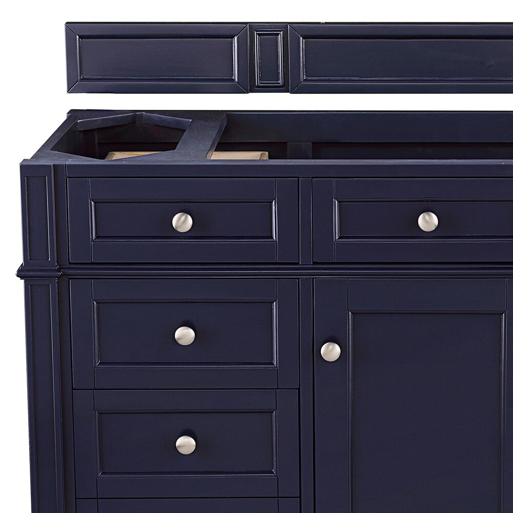 """James Martin Brittany 48"""" Single Vanity Cabinet in Victory Blue, , large"""