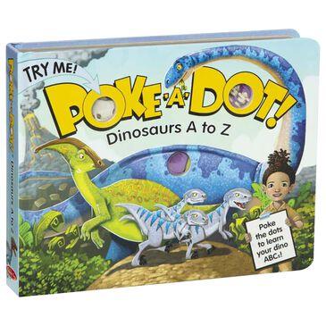 Melissa & Doug Poke-A-Dot: Dinosaurs A To Z, , large