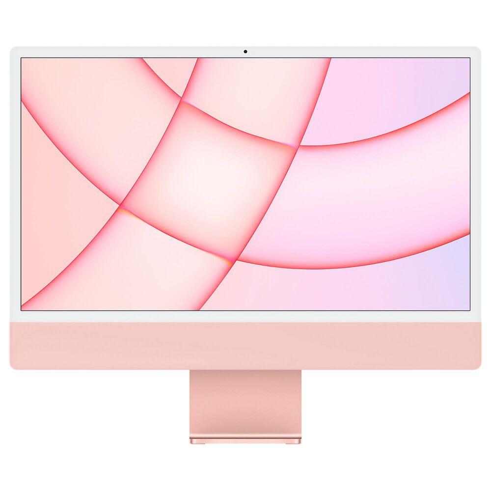 Apple iMac (4.5K Retina, 24-inch, 2021) 7C GPU | 256GB | 2-Port - Pink (Latest Model) with 3 Years AppleCare, , large