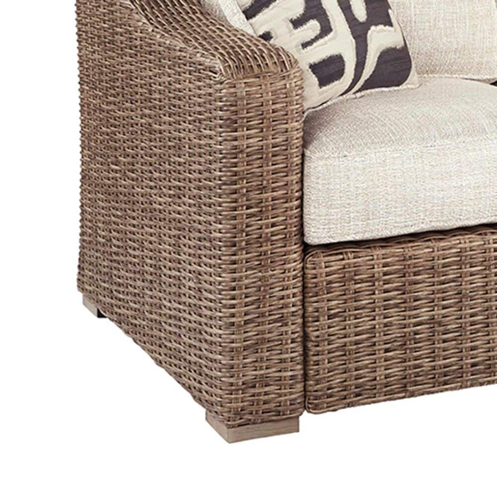 Signature Design by Ashley Beachcroft Sofa in Beige with Accent Pillows, , large