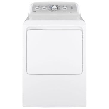 GE Appliances 7.2 Cu. Ft. Electric Dryer with HE Sensor Dry in White, , large