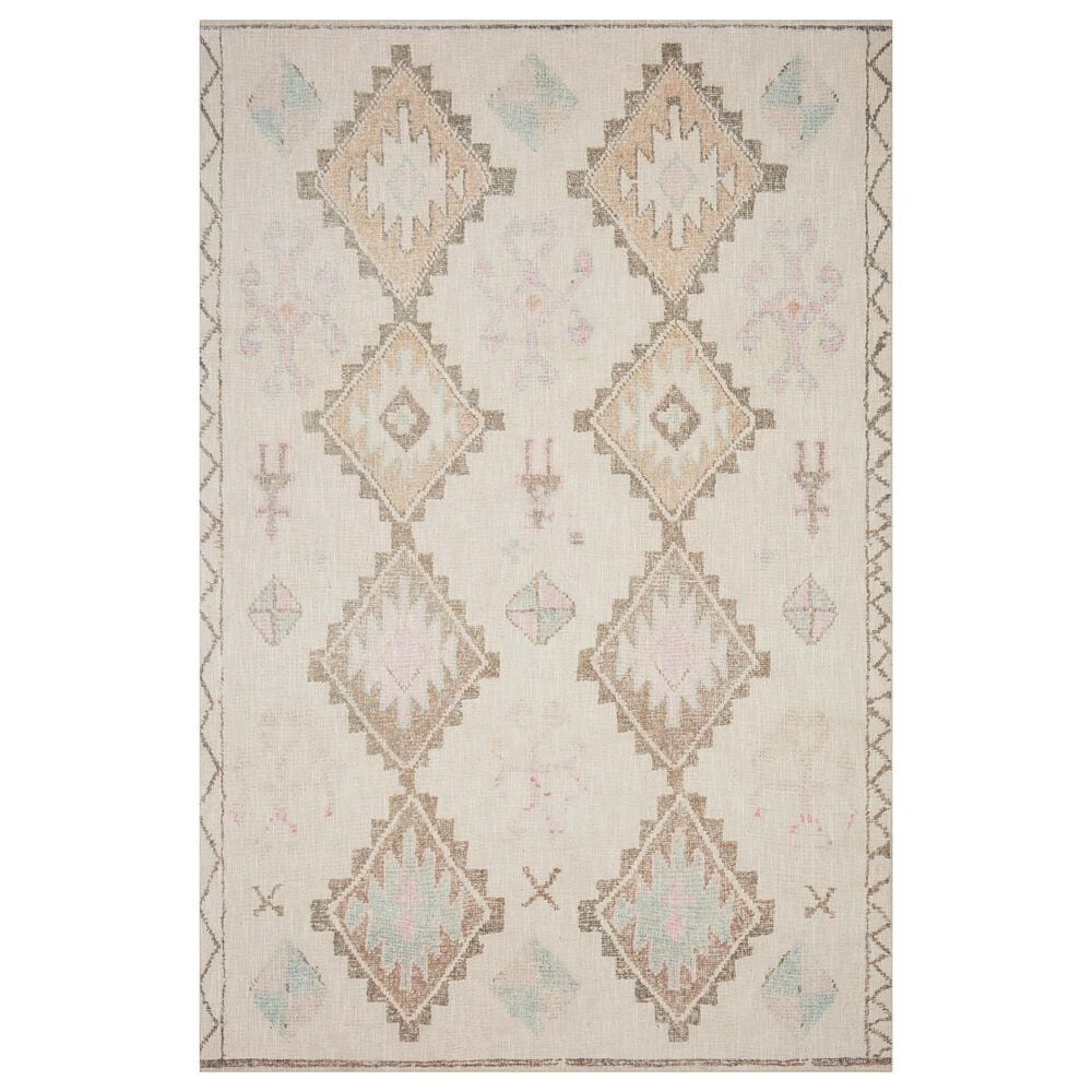 "ED Ellen DeGeneres Crafted by Loloi Alameda ALA-01 3'6"" x 5'6"" Ivory Area Rug, , large"
