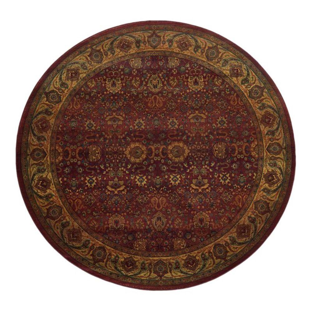 Oriental Weavers Kharma 332C 6' Round Red Area Rug, , large