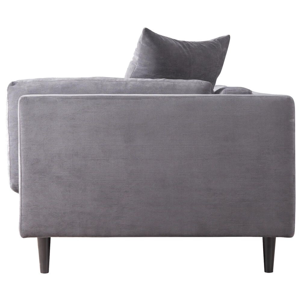 Moe's Home Collection Lafayette Sofa in Grey, , large