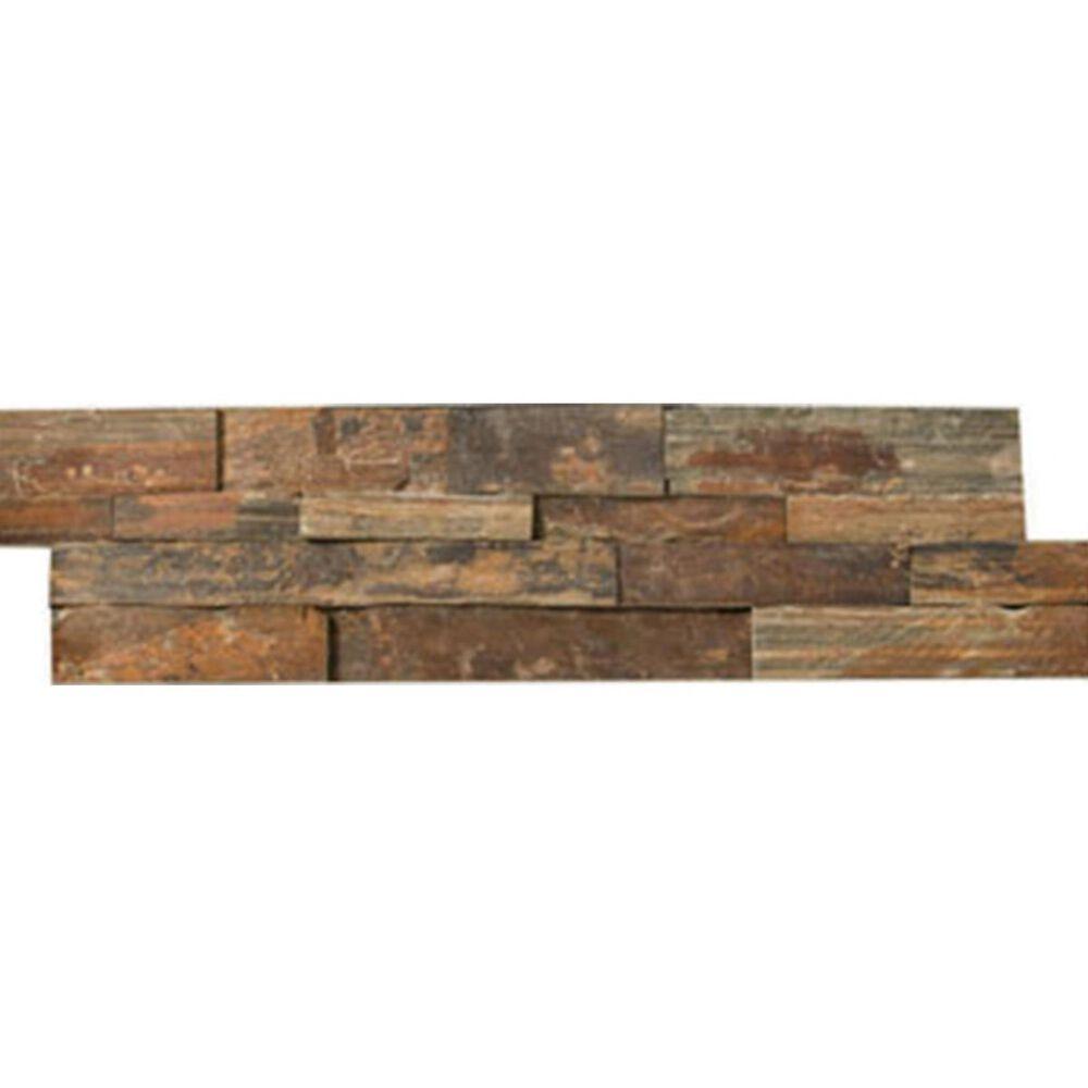 "Emser Slate Stacked Earth 6"" x 24"" Natural Stone Tile, , large"