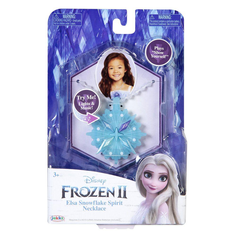Jakks Pacific Frozen 2 Elsa Snowflake Spirit Necklace, , large