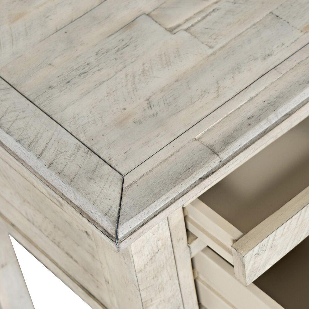 Waltham Rustic Shores Double Pedestal Desk in Vintage Cream, , large