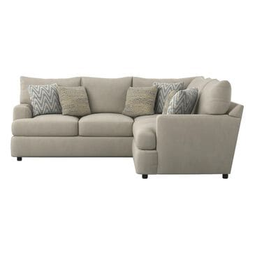 Klaussner Oliver 2-Piece Sectional in Tina Oyster, , large