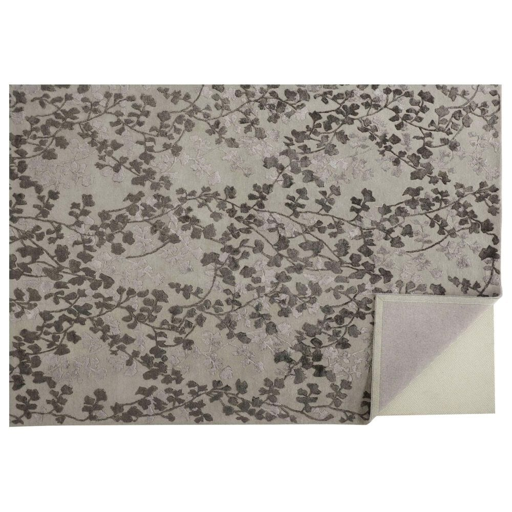 Feizy Rugs Bella 5' x 8' Gray Area Rug, , large