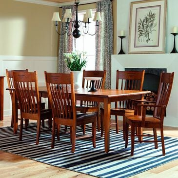 Palettes by Winesburg Shaker 7-Piece Dining Set in Oak, , large