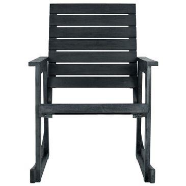 Safavieh Alexei Rocking Chair in Dark Slate Grey, , large