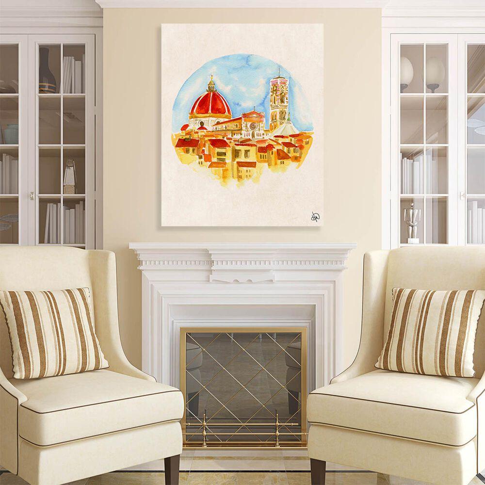"Kathy Ireland Home ""Camera Con Vista"" 14"" x 11"" Canvas Wall Art Print, , large"