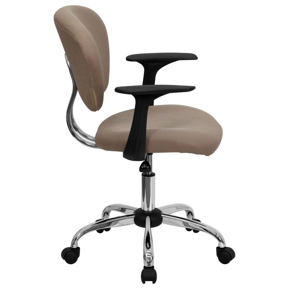 Flash Furniture Swivel Task Chair in Brown, , large
