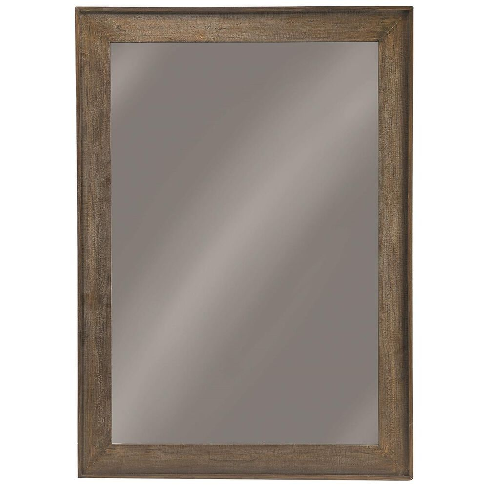 """Pacific Landing 72"""" Accent Floor Mirror in Distressed Brown, , large"""