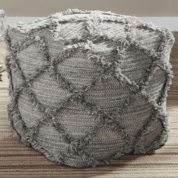 Signature Design by Ashley Adelphie Pouf in Gray, , large