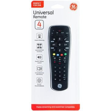 GE 4 Device Universal Remote for DVR, , large