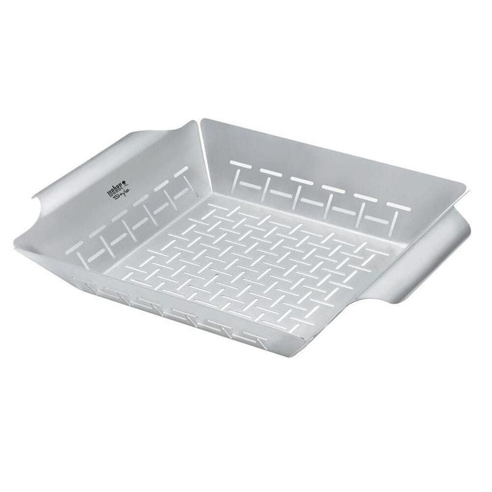 Weber Stainless Steel Grill Basket, , large