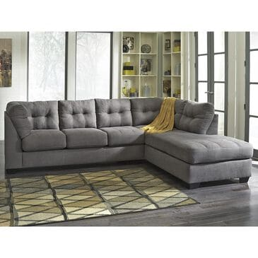 Signature Design by Ashley Maier 2-Piece Sectional in Charcoal, , large
