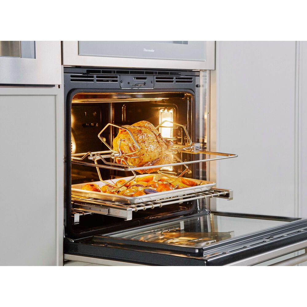 """Thermador 30"""" Masterpiece Single Built-In Oven with Left Side Opening Door in Stainless Steel, , large"""
