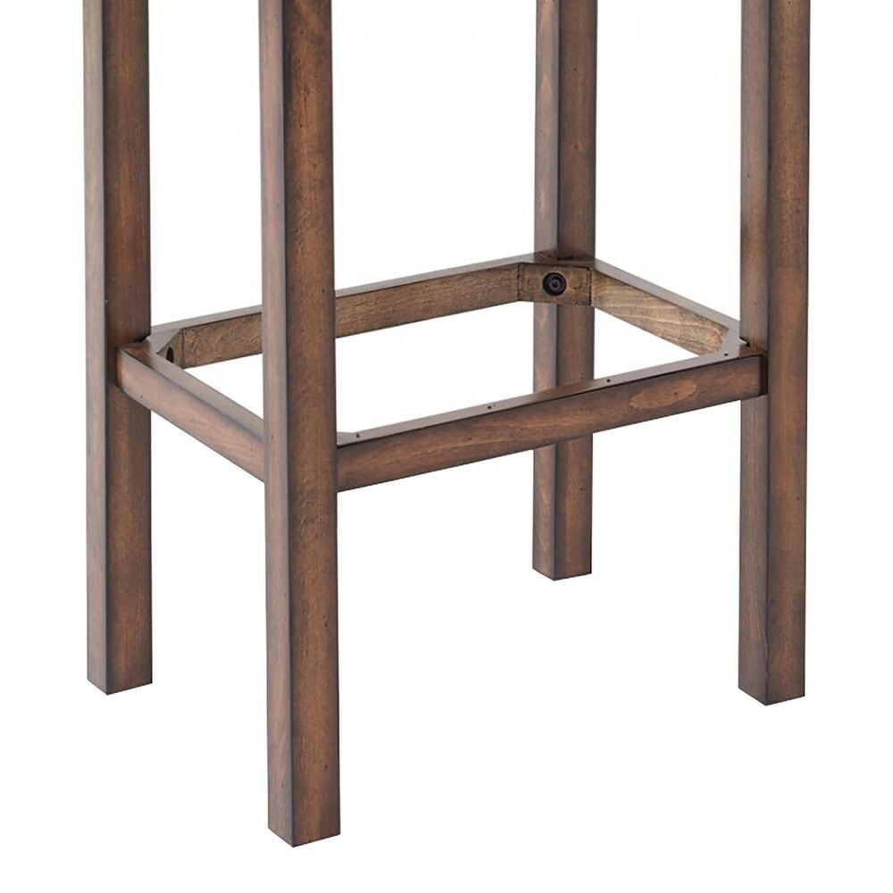 """Blue River Tudor 26"""" Counter Height Stool with Kahlua Cushion in Chestnut, , large"""