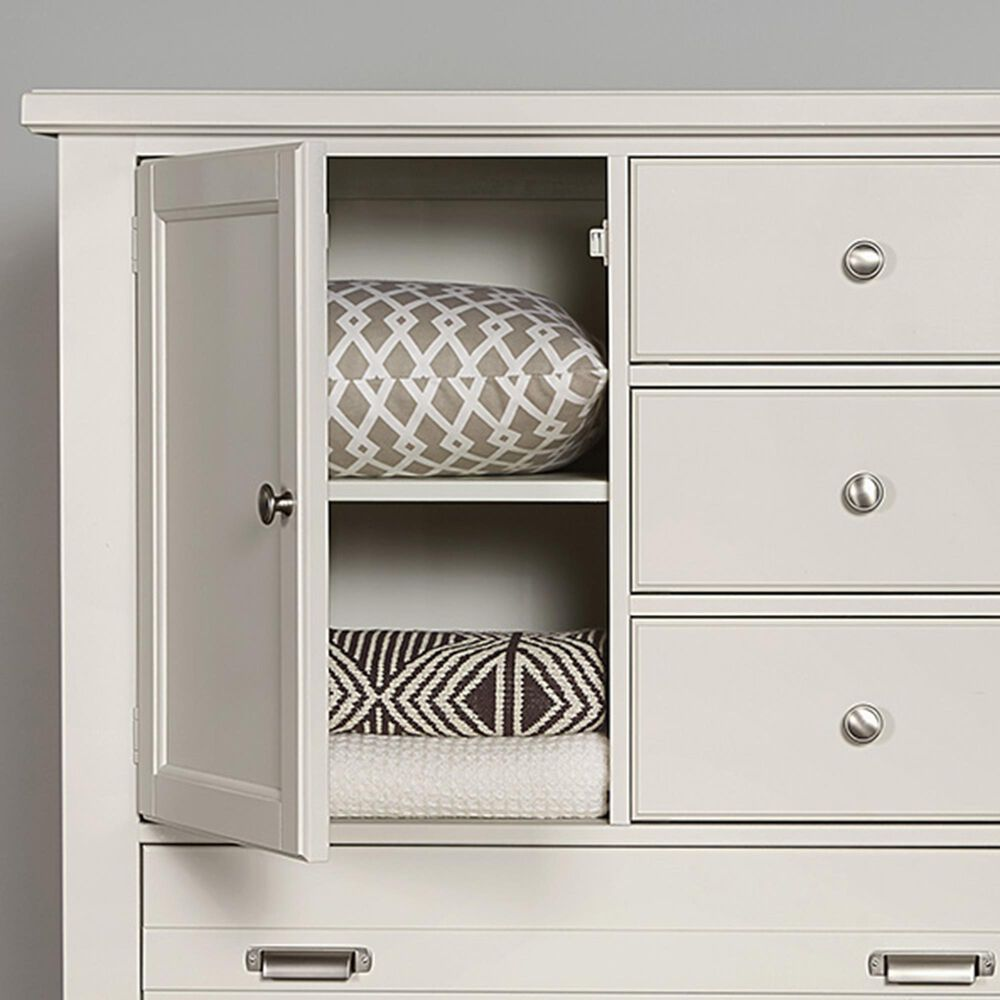 Viceray Collections Bungalow Home 5 Drawer Chest in White, , large