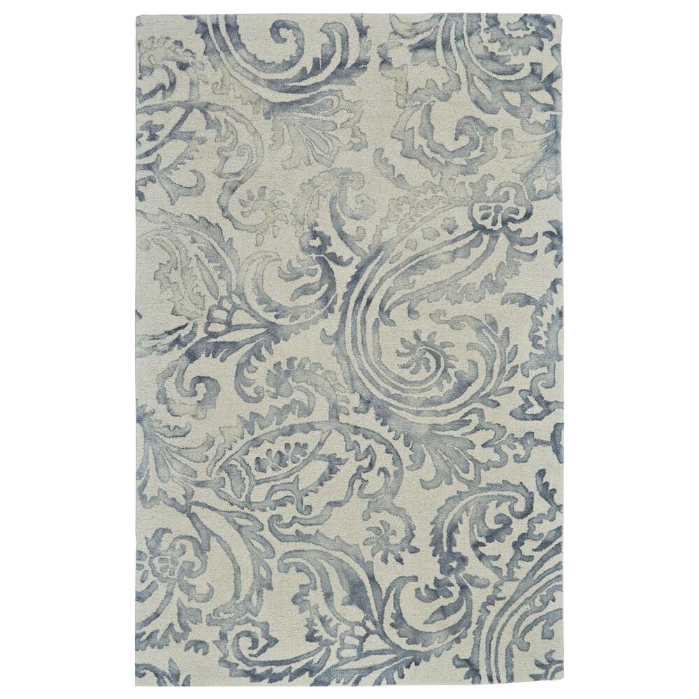 """Feizy Rugs Baxter 8370F 9'6"""" x 13'6"""" Gray Area Rug, , large"""