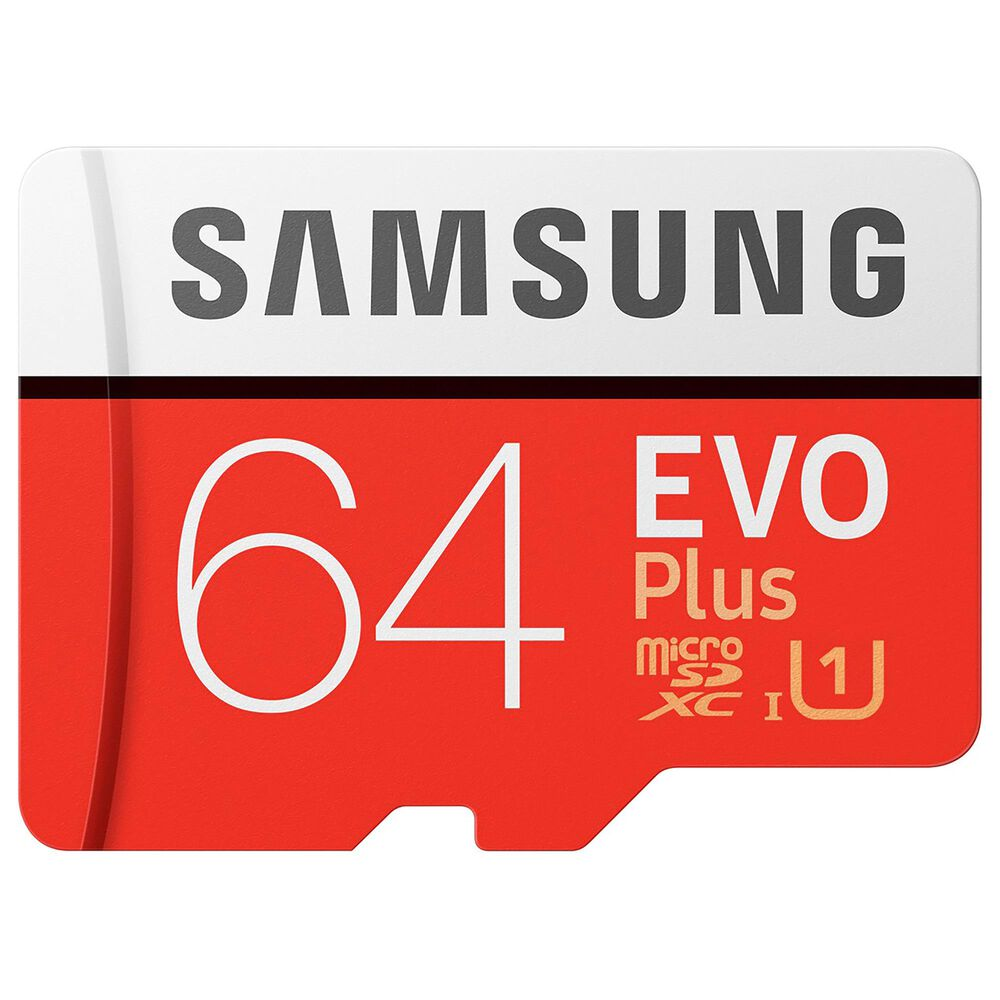 Samsung 64GB EVO Plus microSDXC Memory Card, , large
