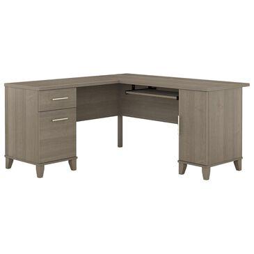 "Bush Somerset 60"" L Shaped Desk in Ash Gray, , large"
