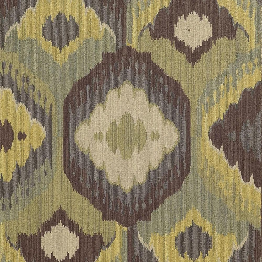 """Oriental Weavers Cabana 929N2 3'10"""" x 5'5"""" Brown and Blue Area Rug, , large"""