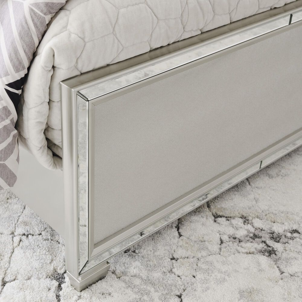 Signature Design by Ashley Lindenfield California King Panel Bed in Champagne, , large