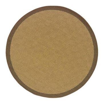 """Oriental Weavers Lanai 525D 7'10"""" Round Tan Area Rug, , large"""
