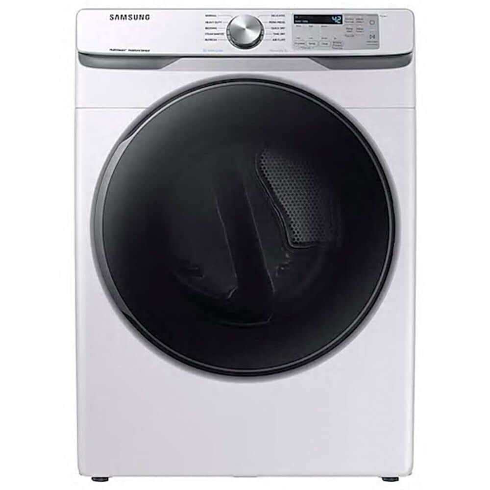 Samsung 7.5 cu. ft. Gas Dryer with Steam Sanitize+ in White, , large