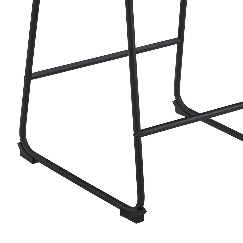Signature Design by Ashley Showdell Counter Height Barstool in Gray and Black, , large