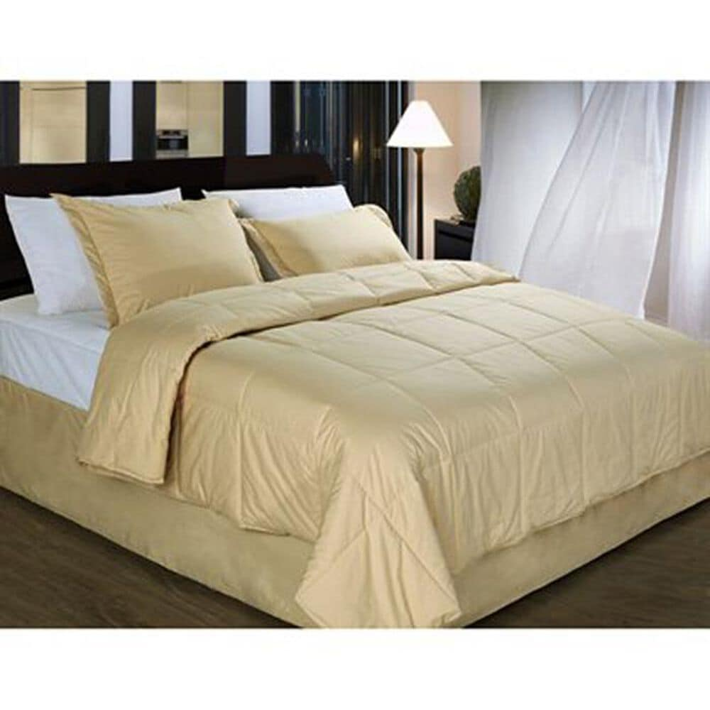 Epoch Hometex Cotton Loft King Comforter in Wheat, , large