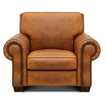 GTR Leather Inc. Nelson Matching Suite Chair in Mustang Brown, , large