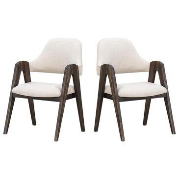 Shell Island Furniture Aspen Dining Chair in Aspen Court Herringbone (Set of 2), , large